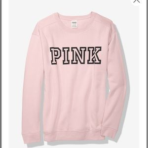 PINK everyday lounge campus crew size M